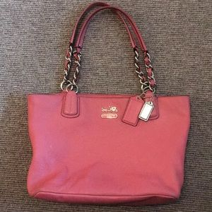 Coach pink Madison  purse #18668